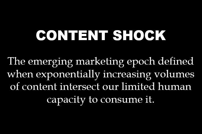 Plan de marketing: el content shock